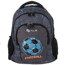 Pulse Teens Grey Football Backpack