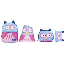 Quilo Owl Design Backpack Pack