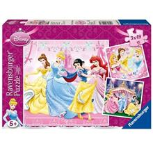 Ravensburger Disney Princess 3 x 49 Puzzle 147 Pcs