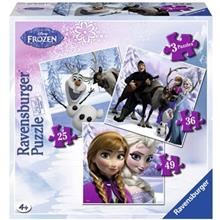 Ravensburger Disney Princess Anna Elsa And Her Friends 110 Pcs Puzzle