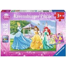 پازل 24 تکه راونزبرگر مدل Disney Princesses 2 x 12