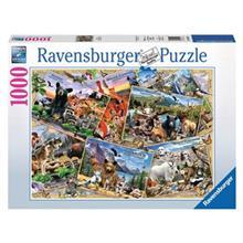 Ravensburger Park Pals Puzzle 1000 Pcs