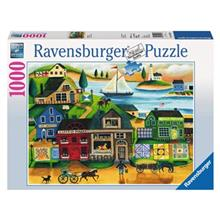 Ravensburger Village Harbor Puzzle 1000 Pcs