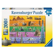 Ravensburger World Famous Buildings Puzzle 200 Pcs
