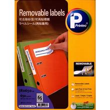 Printec JR0650 Removable Labels