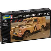 Revell British 4x4 Off Road Vehicle 109 Building