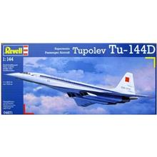 Revell Supersonic Passenger Aircraft Tupolev Tu 144D 04871 Building