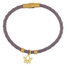دستبند طلا رزا مدل BW02