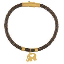 دستبند طلا رزا مدل BW12