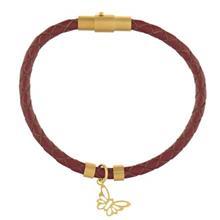 دستبند طلا رزا مدل BW14
