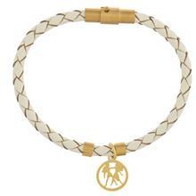 دستبند طلا رزا مدل BW31