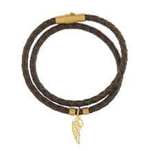 دستبند طلا رزا مدل BW48