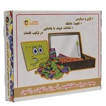 Rushin Magnetic Alphabet Persian 95 Pcs Educational Game