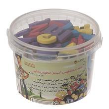 بازي آموزشي راشين مدل Magnetic Persian Alphabet 140 Pcs