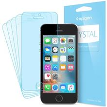 Spigen Crystal Screen Protector For Apple iPhone SE Pack Of 5