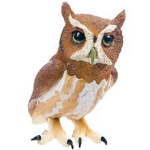 عروسک سافاري مدل Eastern Screech Owl سايز کوچک
