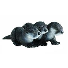 عروسک سافاري مدل North American River Otter سايز کوچک