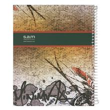 Sam Brickwall Design Homework Notebook Spiral Bound
