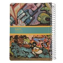 Sam Graffiti Design Homework Notebook