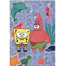 Sam Sponge Bob Design 2 Homework Notebook