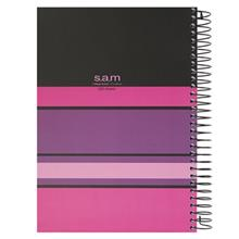 Sam Stripped Design Homework Notebook