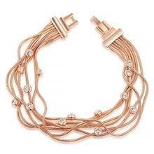 دستبند زنجیری روزینی مدل B01
