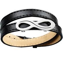 دستبند چرمي روزيني مدل MB16
