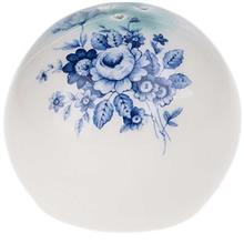 نمکدان سرامیکی گالری میرانام طرح گل آبی