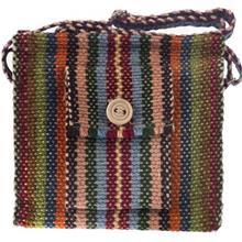 کیف کنفی پشمی هنرکده هیرا مدل تک جیب دسته بلند