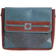 کیف دوشی چرم طبیعی گالری ستاک مدل B590