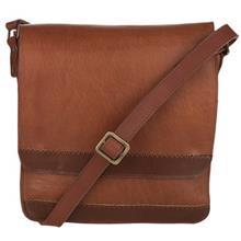کیف دوشی چرم طبیعی گالری چیستا