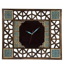 ساعت دیواری گالری آسوریک طرح گره چینی