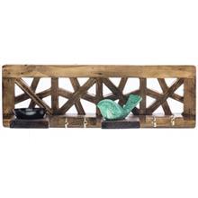 جاکلیدی گالری آسوریک مدل گره چینی طرح پرنده سبز