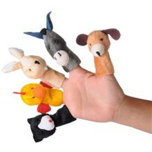 Shadi Rouyan Farm Animals Finger Puppets Pack Of 5