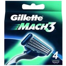 تيغ يدک 4 عددي ژيلت مدل Mach 3
