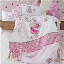 Karaca Home Perkaleh Lovely 1 Person 4 Pieces Child Bedsheet Set