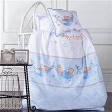 Karaca Home Perkaleh Mel 1 Person 4 Pieces Child Bedsheet Set
