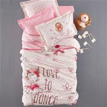 Karaca Home Ranforce Dancing 1 Person 3 Pieces Teenager Stitched Bedsheet Set
