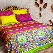 Laico Vivana 180 Multicolour 2 Persons 6 Pieces Bedsheet Set