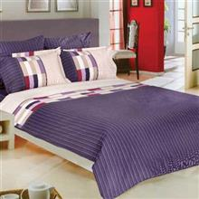Perka Rotary Ranfors Brick 1 Person 3 Pieces Duvet Set