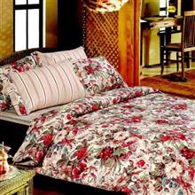 Mel Rose Rotary Ranfors Camelia 1 Person 3 Pieces Duvet Set