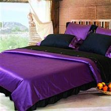 Mel Rose Rotary Satin Leonard 2 Persons 8 Pieces Duvet Set