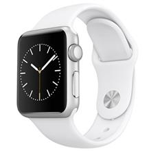 Apple Watch 38mm Silver Aluminum Case with Sport Band