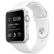 Apple Watch 42mm Silver Aluminum Case with Sport Band
