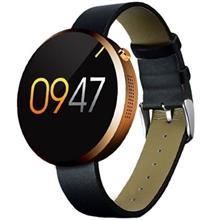 ساعت هوشمند لمفو مدل DM360 با بند چرمی
