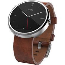 ساعت هوشمند موتورولا Moto 360 Brown Leather Band