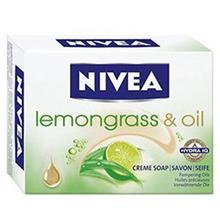 صابون زيبايي نيوآ مدل Lemongrass And Oil Cream Soap 100gr