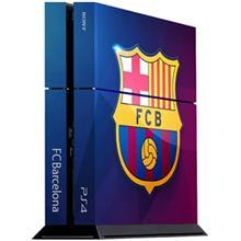 برچسب عمودي پلي استيشن 4 ونسوني طرح FC Barcelona