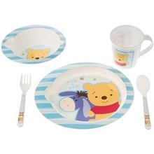 ست 5 تکه غذاخوري ديزني بيبي مدل Pooh And Eeyore