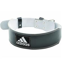 Adidas ADGB-12234 Leather Lumbar Belt Size Small And Medium